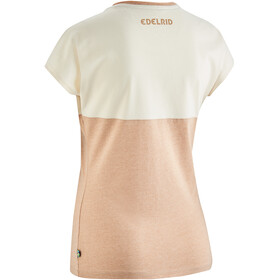 Edelrid Angama Camiseta Mujer, ecru